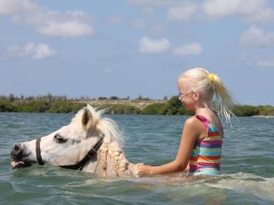 Lady swimming!